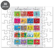 En español por favor poster Puzzle
