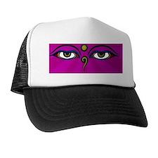iphone PINK buddha Trucker Hat