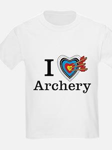 I Heart Archery Kids T-Shirt