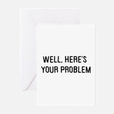 Here's your problem Greeting Cards (Pk of 10)