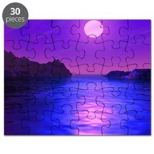 sunset-abstract Puzzle