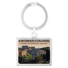 Rome - Forum and Colosseum Landscape Keychain