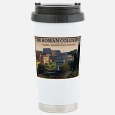 Rome - Forum and Colosseum Stainless Steel Travel