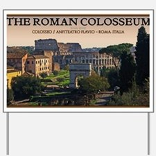 Rome - Forum and Colosseum Yard Sign