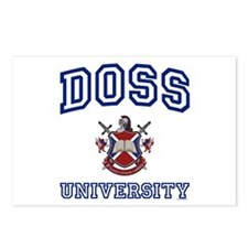 DOSS University Postcards (Package of 8)