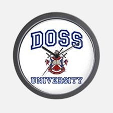 DOSS University Wall Clock