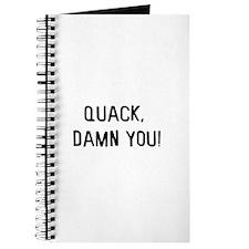 Quack damn you Journal