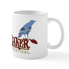 2010 Mt Baker Fest Logo Photo Black Mug