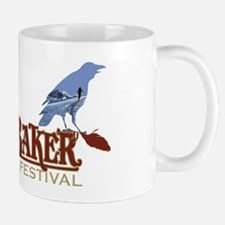 2010 Mt Baker Fest Logo Photo Black Mug