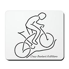 Mountain Biker's Mousepad