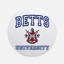BETTS University Ornament (Round)