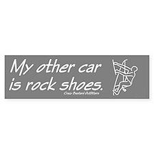 Rock Climber's Bumper Bumper Sticker