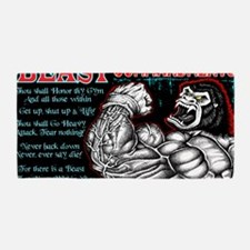 4-Commandments of the BEAST Beach Towel