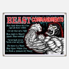 4-Commandments of the BEAST Banner