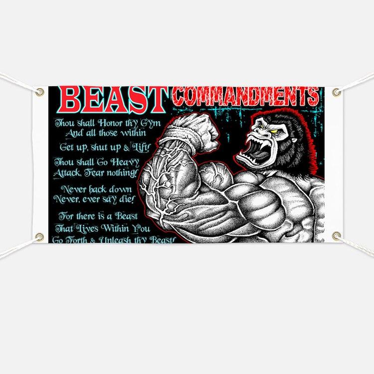 4-Commandments of the BEAST Banner
