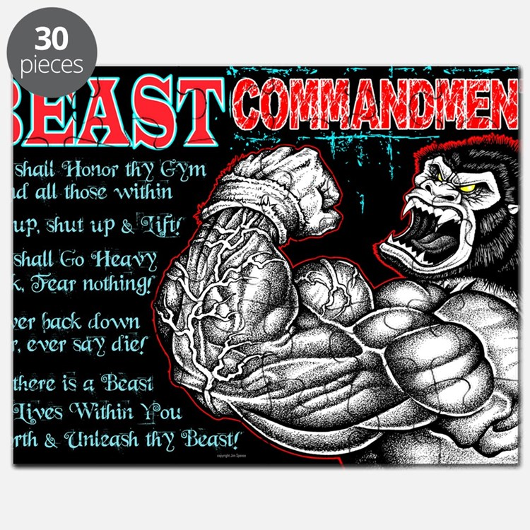 4-Commandments of the BEAST Puzzle