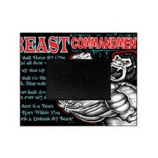 4-Commandments of the BEAST Picture Frame