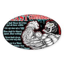 4-Commandments of the BEAST Decal