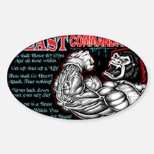 4-Commandments of the BEAST Decal