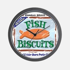 fishbiscuits Wall Clock