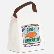 fishbiscuits Canvas Lunch Bag