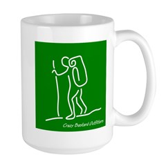 Hiker's Large Mug (Green Logo)