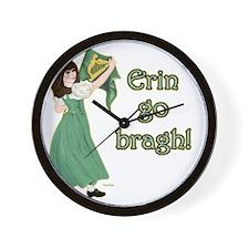 TR-Erin-Go-Bragh-with-gold Wall Clock