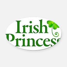 Irish princess Oval Car Magnet