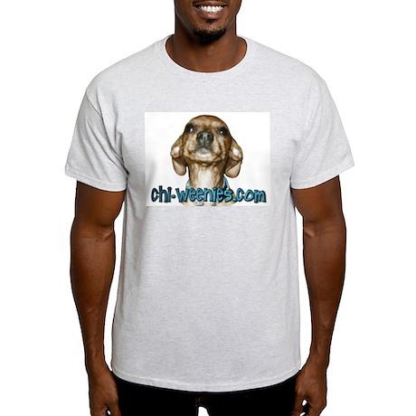 Chi-Weenies.com Ash Grey T-Shirt