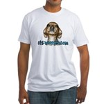 Chi-Weenies.com Fitted T-Shirt