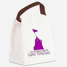 defendinflag Canvas Lunch Bag