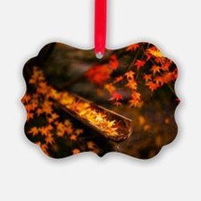 Autumn Maple Ornament