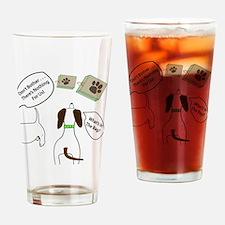 DontBotherWhatsInBagCombo Drinking Glass