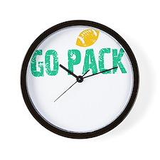 Go Pack Thing - dk Wall Clock