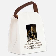 atheisim_diderot_trans Canvas Lunch Bag