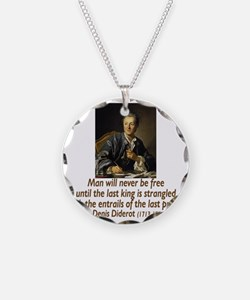 atheisim_diderot_trans Necklace
