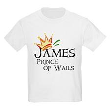 James Prince of Wails Kids T-Shirt