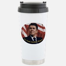 Reagan_Oval_5x3 Travel Mug