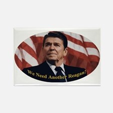 Reagan_Oval_5x3 Rectangle Magnet