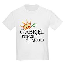 Gabriel Prince of Wails Kids T-Shirt