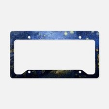 Starry Night Over the Rhone License Plate Holder