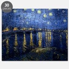 Starry Night Over the Rhone Puzzle
