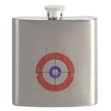 Curling -dark Flask