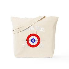 Curling -dark Tote Bag