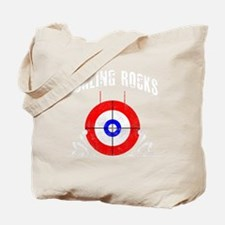 Curling -dark Tote Bag