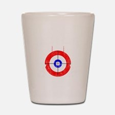 Curling -dark Shot Glass