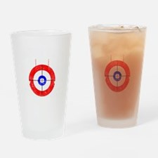 Curling -dark Drinking Glass