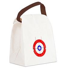 Curling -dark Canvas Lunch Bag