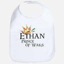 Ethan Prince of Wails Bib