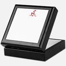 Curling Thing -dark Keepsake Box